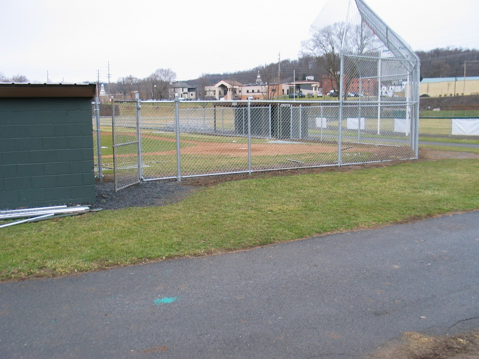 chain link fence king by vinyl king