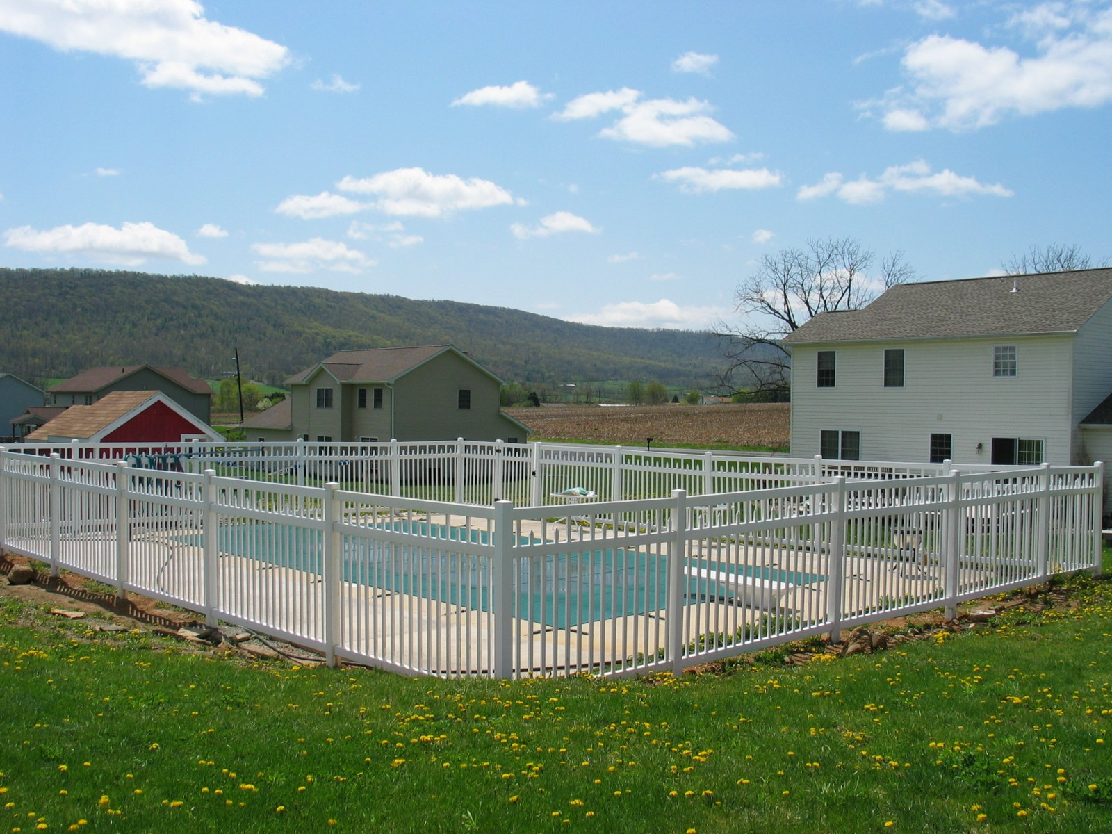 Swimming Pool Fence Fence King By Vinyl King