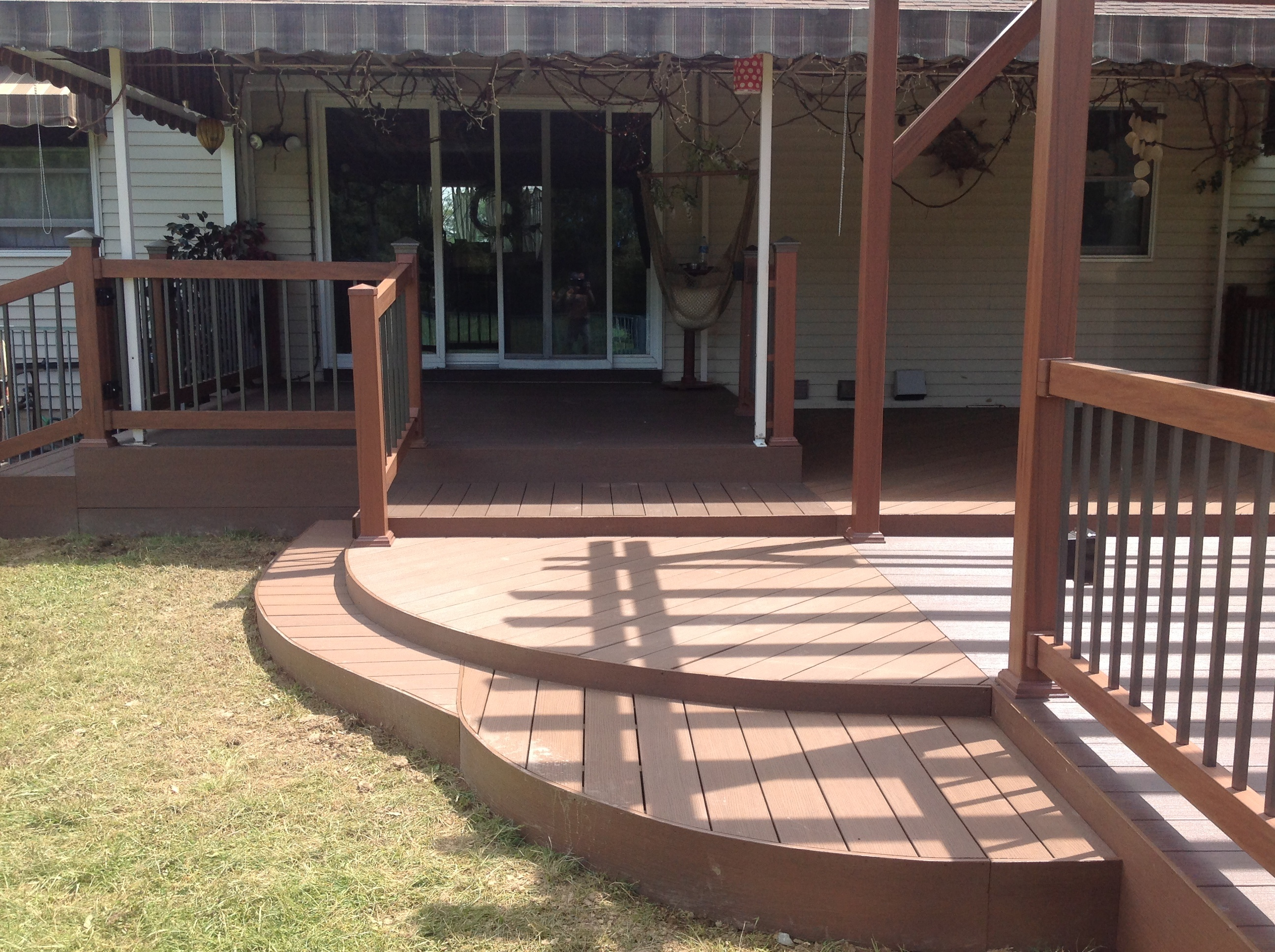 Replacement Or Reface Vinyl And Wood Decks Fence King
