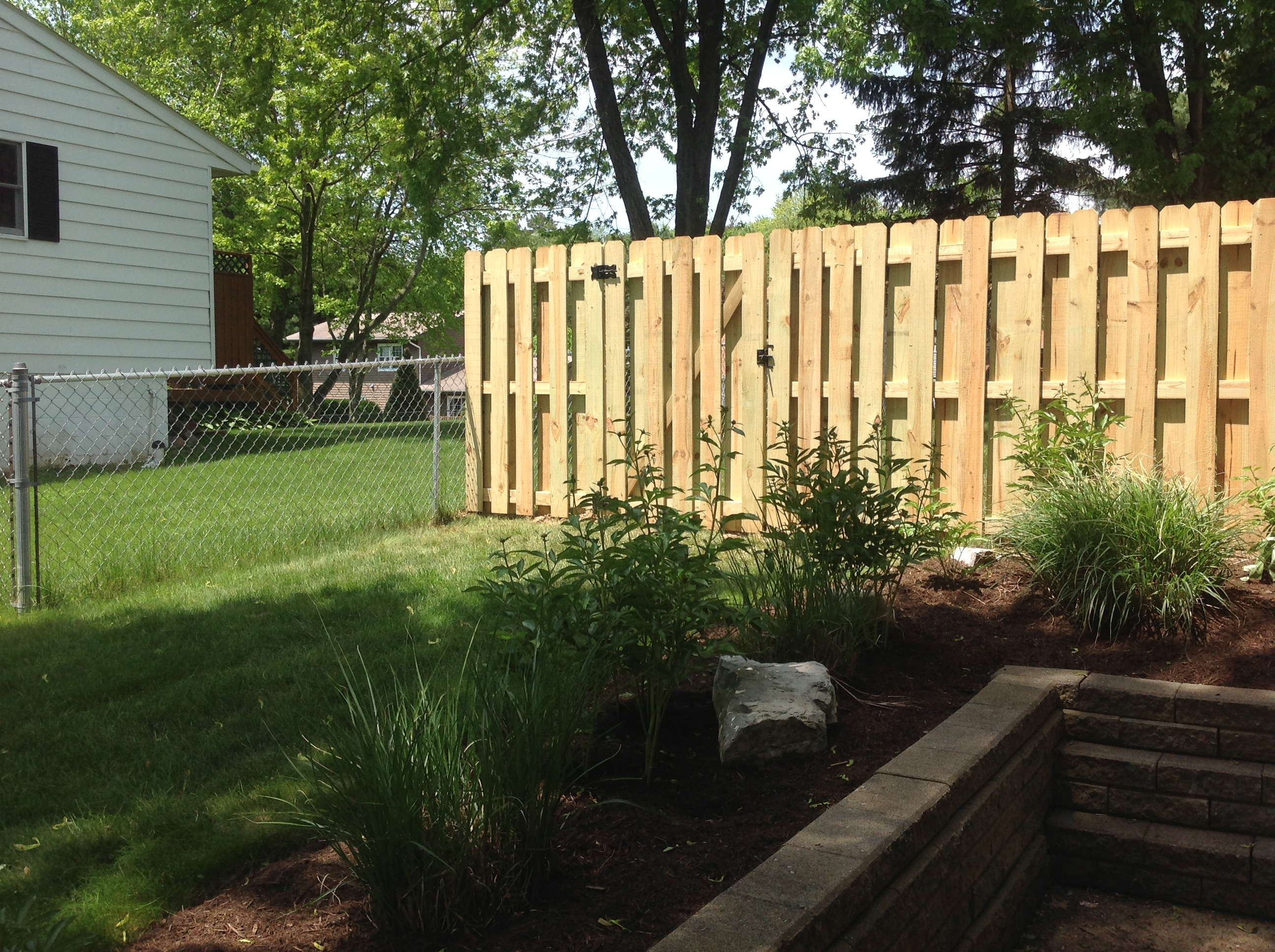 Custom Built Pressure Treated Wood Fences Fence King
